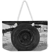 Black Wheel Weekender Tote Bag