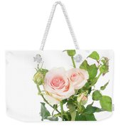 Rose Twigs Weekender Tote Bag