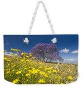 Blossoming Jacaranda Weekender Tote Bag