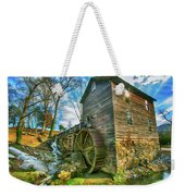 Blowing Cave Mill Near Smoky Mountains Of East Tennessee Weekender Tote Bag