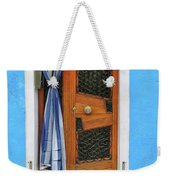 Blue In Burano Weekender Tote Bag