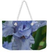 Blue Iris 2 Weekender Tote Bag