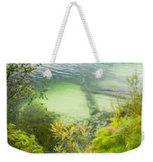 Blue Lake Stradbroke Island Weekender Tote Bag