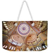Blue Mosque Interior Weekender Tote Bag