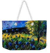 Blue Poppies  Weekender Tote Bag