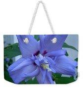 Blue Rose Of Sharon Weekender Tote Bag