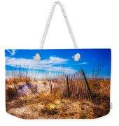 Blue Sky Over The Dunes Weekender Tote Bag