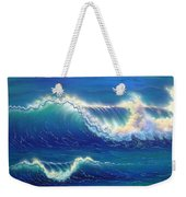 Blue Thunder Weekender Tote Bag