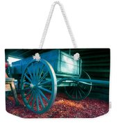 Blue Wagon Weekender Tote Bag