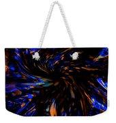 Blue Wormhole Nebula Weekender Tote Bag