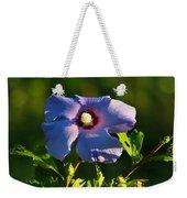 Bluebird Rose Of Sharon Weekender Tote Bag