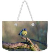 Bluetit On A Branch Weekender Tote Bag