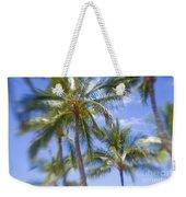 Blurry Palms Weekender Tote Bag