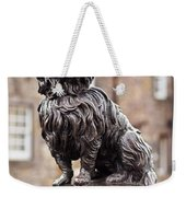 Bobby Statue, Edinburgh, Scotland Weekender Tote Bag