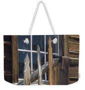 Bodie Picket Fence And Window Weekender Tote Bag