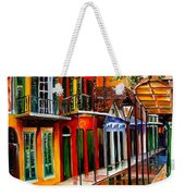 Bold Vieux Carre Weekender Tote Bag