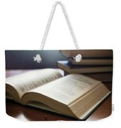 Books And Glasses Weekender Tote Bag