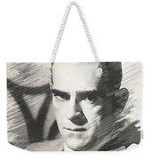 Boris Karloff, Vintage Actor Weekender Tote Bag