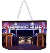 Boscombe Pier At Night Weekender Tote Bag