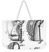 Boxing Glove Patent 1944 Weekender Tote Bag