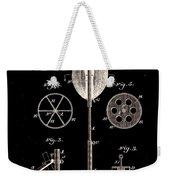 Boxing Punch Bag Patent 1885 Weekender Tote Bag