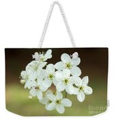 Bradford Pear Flower Weekender Tote Bag