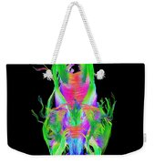 Brain Fiber Tracts, Dti Scan Weekender Tote Bag