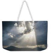 Breaking The Clouds Weekender Tote Bag