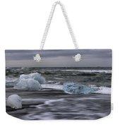 Brethamerkursandur Iceberg Beach Iceland 2155 Weekender Tote Bag