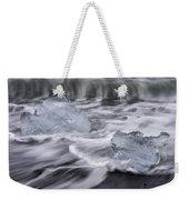 Brethamerkursandur Iceberg Beach Iceland 2588 Weekender Tote Bag