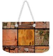 Bricks Collage  Weekender Tote Bag