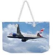 British Airways Boeing 787 Dreamliner Weekender Tote Bag
