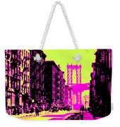 Brooklyn Bridge Weekender Tote Bag