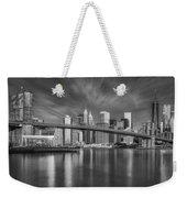 Brooklyn Bridge From Dumbo Weekender Tote Bag