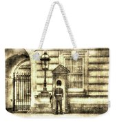 Buckingham Palace Queens Guard Vintage Weekender Tote Bag