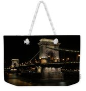 Budapest At Night. Weekender Tote Bag