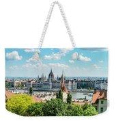 Budapest Skyline Weekender Tote Bag