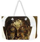 Buddha Sculpture Weekender Tote Bag