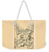 Buffalo Bill And Standing Buffalo Weekender Tote Bag