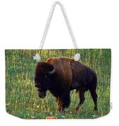 Buffalo Custer State Park Weekender Tote Bag