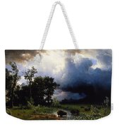 Buffalo Trail  The Impending Storm Weekender Tote Bag