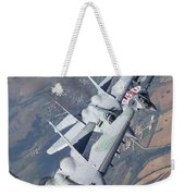 Bulgarian And Polish Air Force Mig-29s Weekender Tote Bag