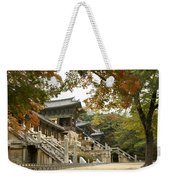 Bulguksa Buddhist Temple Weekender Tote Bag