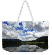 Bull Lake Reflection Weekender Tote Bag
