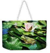 Bullfrog Weekender Tote Bag