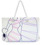 Bus Stop Blues Weekender Tote Bag