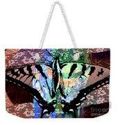 Butterfly Pet Weekender Tote Bag
