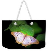 White Peacock Butterfly Wonderland A Series  Weekender Tote Bag