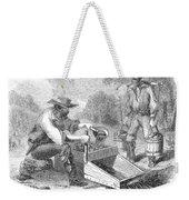 California Gold Rush, 1860 Weekender Tote Bag