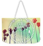 California Palms IIi Weekender Tote Bag